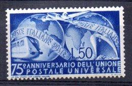Sello Nº 538  Italia - 6. 1946-.. República