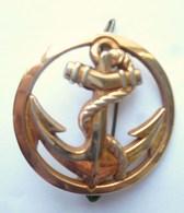 INSIGNE DE BERET TDM Troupes De Marine - COINDEROUX PARIS - Armée De Terre