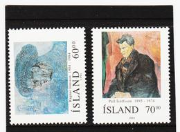 POL1830 ISLAND 1991  Michl 751/52 ** Postfrisch SIEHE ABBILDUNG - 1944-... Republik