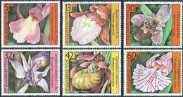 MBP-BK26-528 MINT ¤ BULGARIA 1986 6w In Serie ¤ FLOWERS OF THE WORLD - FLEURS - BLÜMEN - BLOEMEN - FLORES - Orchideeën