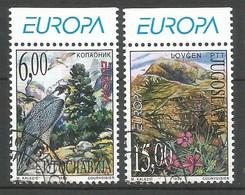 Jugoslawien / Jugoslavija 1999 Mi.Nr. 2910 / 2911 , EUROPA CEPT - Natur-und Nationalparks - Gestempelt / Fine Used / (o) - 1999