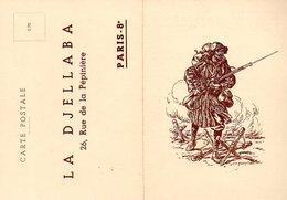 Militaria : Invitation à La Cérémonie De La Flamme Du 30 Juin 1939 émise Par La Djellaba - Documents