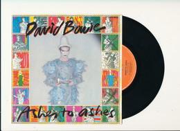 "DAVID BOWIE "" ASHES TO ASHES"" Disque RCA VICTOR 1980  TRES BON ETAT - Rock"