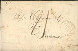 O New Orleans To Bordeaux. 'New Orleans 1st November, 1815' Dateline On Folded Letter To Bordeaux, France, Clear Strike  - 1801-1848: Voorlopers XIX