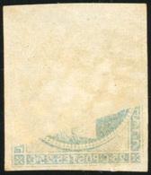O 25c. Bleu. Obl. Variété Impression Recto/verso Partiel. B.(cote : 0) - 1849-1850 Ceres