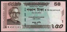 BANGLADESH P56g  50 TAKA 2017 UNC. - Bangladesh