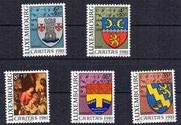 Serie Nº 991/5  Luxemburgo - Luxemburgo