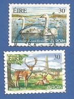 Irland / Eire 1999 Mi.Nr. 1141/1142 , EUROPA CEPT Natur-und Nationalparks - Selbstklebend - Gestempelt / Fine Used / (o) - 1999