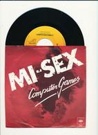 """MI-SEX """" COMPUTER GAMES"""" Disque CBS 1979  TRES BON ETAT - Rock"""
