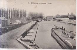 Cambrai Vue Sur L'Escaut 1911 - Cambrai