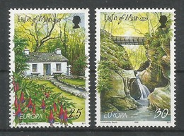 Isle Of Man 1999 Mi.Nr. 799 / 800 , EUROPA CEPT - Natur- Und Nationalparks - Postfrisch / MNH / (**) - 1999