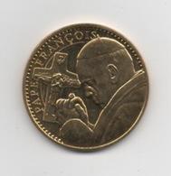 JETON TOURISTIQUE . Monnaie De Paris .  PAPE FRANCOIS . Sans Date . - 2009