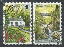 Isle Of Man 1999 Mi.Nr. 799 / 800 , EUROPA CEPT - Natur- Und Nationalparks - Gestempelt / Fine Used / (o) - 1999