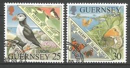 Guernsey 1999  Mi.Nr. 809 / 810 , EUROPA CEPT - Natur- Und Nationalparks - Gestempelt / Fine Used / (o) - 1999
