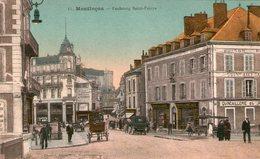 (105) CPA  Montluçon  Faubourg St Pierre  (Bon état) - Montlucon