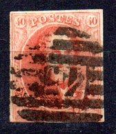 Sello Nº 12  Belgica - 1858-1862 Medallones (9/12)