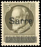 ** SAAR. 3p. Brun. SUP.(cote : 370) - Sarre