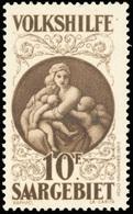 * SAAR. 10(+10)Fr. Brun. La Charité. TB.(cote : 550) - Sarre