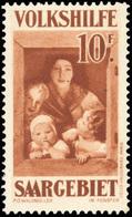 ** SAAR. 10(+10)Fr. Brun-rouge. SUP.(cote : 275) - Sarre