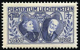 * 8 Valeurs Dont 4 Décalqués Au Dos.(cote : 0) - Liechtenstein
