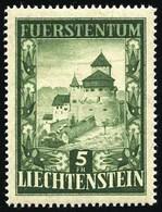 ** 5F. Vert. TB.(cote : 200) - Liechtenstein