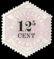 (*) 12 1/2c. Lilas. TB.(cote : 300) - Pays-Bas