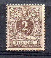 Sello Nº 44  Belgica - Raubkatzen