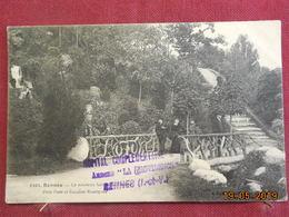CPA - Rennes - Le Nouveau Jardin Du Thabor - Petit Pont Et Escalier Rustique - Rennes