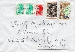 Auslands - Brief Von 71043A Mit 7,50 Franc Schöner Mischfrakatur 2019 - 2018-... Marianne L'Engagée