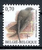 BELGIE * Buzin * Nr 3608 * Postfris Xx * HELDER FLUOR  PAPIER - 1985-.. Birds (Buzin)
