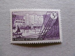 1955  S P M  P 350 * *   LE FRIGORIFIQUE DE SAINT PIERRE - Neufs