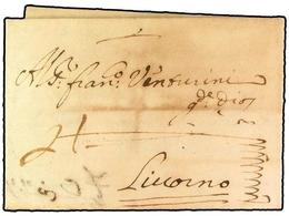 SPAIN: PREPHILATELIC MARKS  DP01 CASTILLA LA NUEVA - ...-1850 Voorfilatelie