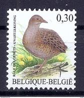 BELGIE * Buzin * Nr 3478 * Postfris Xx * WIT  PAPIER - 1985-.. Birds (Buzin)