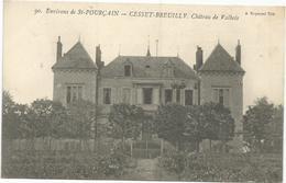 CESSET BREUILLY CHATEAU DE VALBOIS  ENVIRONS DE SAINT POURCAIN - Otros Municipios