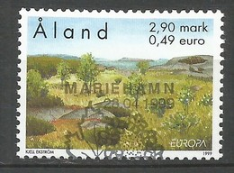 Finnland-Äland  1999  Mi.Nr. 157 , EUROPA CEPT - Natur- Und Nationalparks - Gestempelt / Fine Used / (o) - 1999