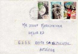 Auslands - Brief Von 57 Moyeuvre-Grande Mit 8,50 Franc Schöner Mischfrankatur 2019 - 2018-... Marianne L'Engagée