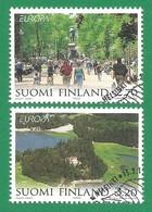 Suomi Finnland  1999  Mi.Nr. 1474 / 1475 , EUROPA CEPT - Natur- Und Nationalparks - Gestempelt / Fine Used / (o) - Europa-CEPT