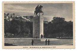 NAPOLI -  MONUMENTO AL MARESCIALLO DIAZ  - Animata - Napoli (Naples)