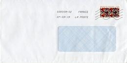 Auslands - Brief Von 71880 Chatenoy Le Royal 03930A Mit Inspiration Africaine 2019 - 2018-... Marianne L'Engagée