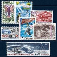 TAAF 1997/1998   Poste Aérienne N° YT 141-143 Et 147-150  ** MNH - Airmail