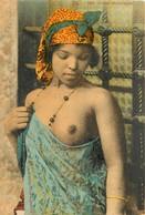CPA THEMES PIN_UPS AFRIQUE MAROC SCENES/TYPES FEMME SEINS NUS DANSEUSE MAROCAINE N°1004 VOIR IMAGES - Sonstige