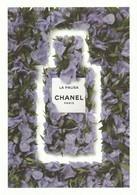 CHANEL   Dans Les Champs De CHANEL   Grande Belle Carte  (17 / 12 Cm ) **La PAUSA ** R V / - Perfume Cards