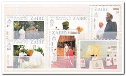 Zaïre 1985, Postfris MNH, Pope Visit - Zaïre