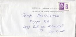 Auslands - Brief Von 69560 Mairie St Cyr Sur Le Rhône Mit Marke International 2019 - 2018-... Marianne L'Engagée