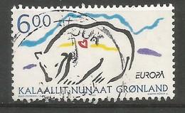 Dänemark-Grönland  1999  Mi.Nr. 338 , EUROPA CEPT - Natur- Und Nationalparks - Gestempelt / Fine Used / (o) - 1999