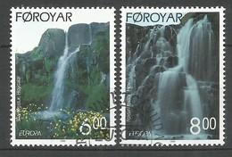 Dänemark-Färöer  1999  Mi.Nr. 354 / 355 , EUROPA CEPT - Natur- Und Nationalparks - Gestempelt / Fine Used / (o) - 1999