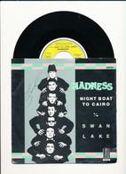 """MADNESS  """" NIGHT BOAT TO CAIRO """" Disque STIFF-RECORDS 1979   TRES BON ETAT - Rock"""