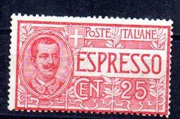 Sello Nº 1 Pour Lettres  Italia - Italia