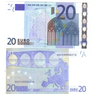 20 €  ITALIA FDS UNC J002B5 Duisenberg Cod.€.043 - EURO