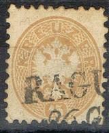 Sello 15 Kreuzer Bistre, Imperio Astrohungaro 1863, Fechador RAGUSA (republ. Croacia),  Yvert Num 31 º - 1850-1918 Imperio